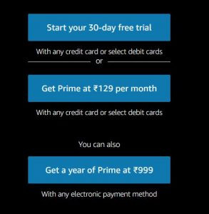 Get Free Amazon Prime Account For Free